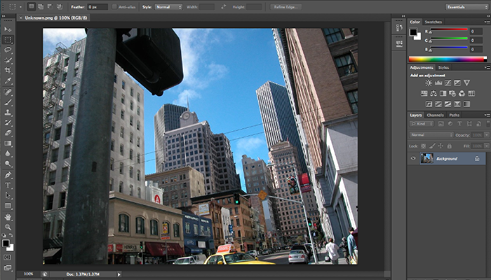 Adobe Photoshop Screenshot
